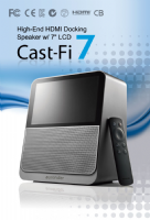 Aurender Cast-Fi 7 - HDMI Docking Speaker